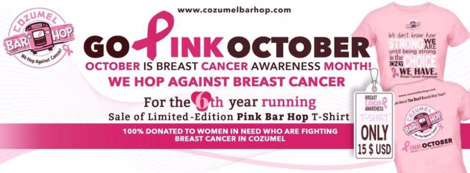 Cozumel Breast Cancer Awareness